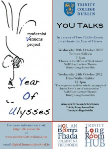You Talks at Trinity Long Room Hub