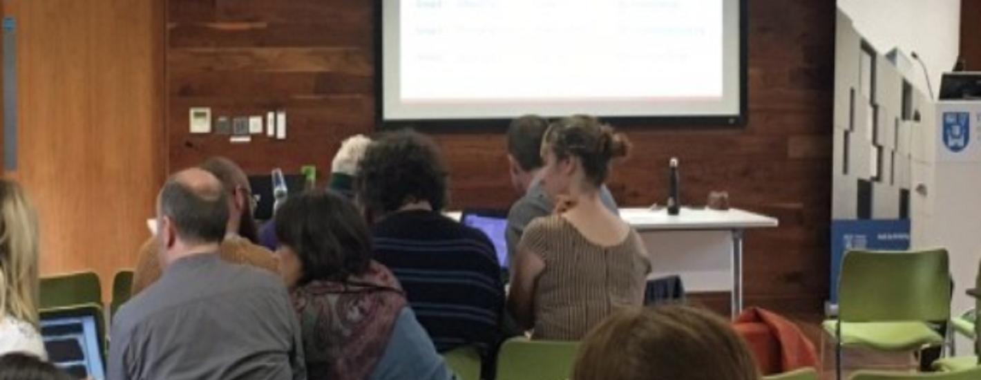 Digital Scholarship and Skills Workshop Series, Michaelmas Term 2019