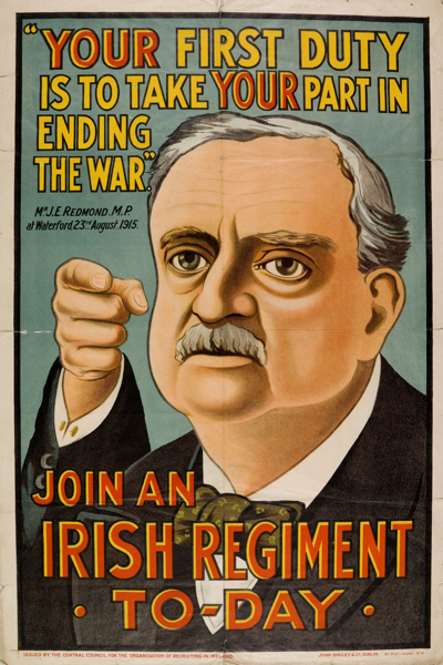 Join an Irish Regiment Today