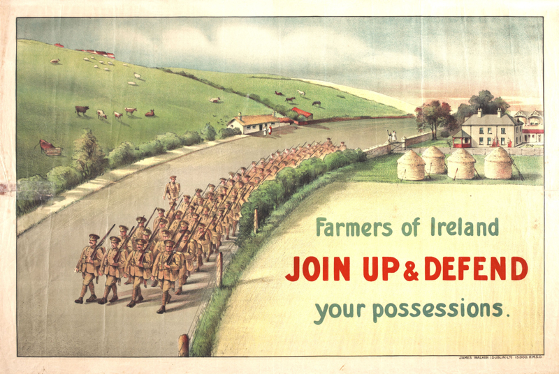 Farmers of Ireland join up and defend