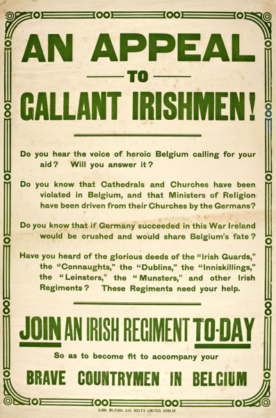 An appeal to gallant Irishmen