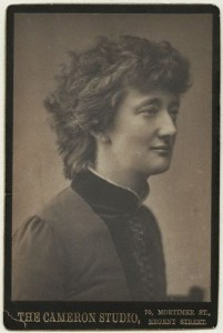 Alice Stopford Green (nÈe Alice Sophia Amelia Stopford), photograph by Henry Herschel Hay Cameron (later The Cameron Studio), 1880s.