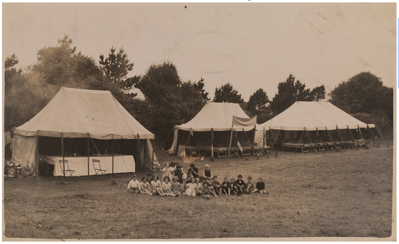 A holiday camp for children affected by the disease. TCD MS 7535/304, 308.